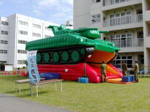 戦車型 ジャンボ滑り台